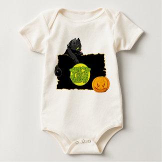 Truco o invitación de Halloween Trajes De Bebé