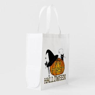 """¡Truco-O-Invitación de """"mi primer Halloween""""! Bolsa Reutilizable"""