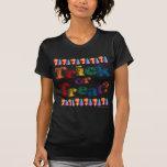 Truco o invitación del arco iris camiseta