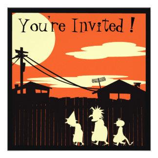Truco o invitación del fiesta de Treaters Hallowee