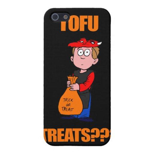 Truco o invitación divertido de Halloween iPhone 5 Protectores