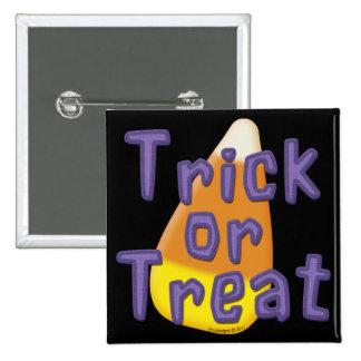 Truco o invitación Halloween de las pastillas de c Pins
