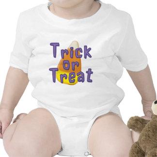 Truco o invitación Halloween de las pastillas de c Traje De Bebé