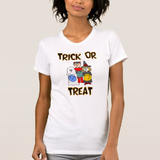 Truco o invitación (Truco-O-Treaters) Camiseta