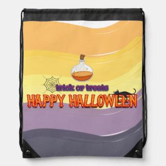 Truco o invitaciones * feliz Halloween Mochila