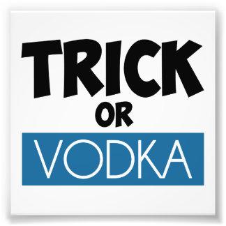 Truco o vodka cojinete