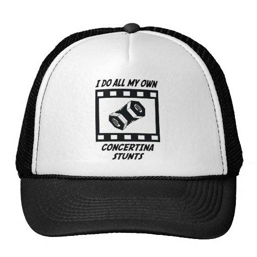 Trucos acordeón gorras