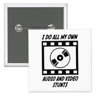 Trucos audios y video pin cuadrado
