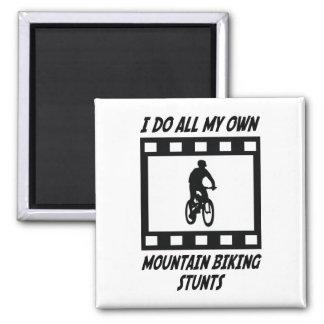 Trucos Biking de la montaña Imán De Frigorífico