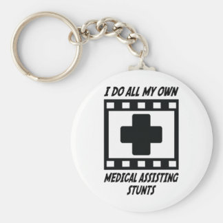 Trucos de ayuda médicos llavero personalizado