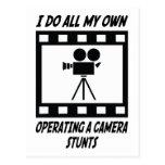 Trucos de funcionamiento de una cámara tarjetas postales