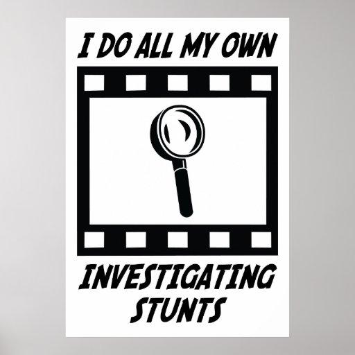 Trucos de investigación posters
