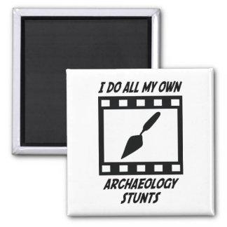 Trucos de la arqueología iman de nevera