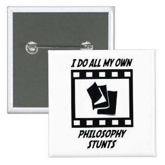 Trucos de la filosofía pin cuadrado