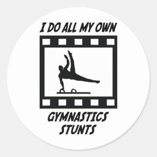 Trucos de la gimnasia etiquetas