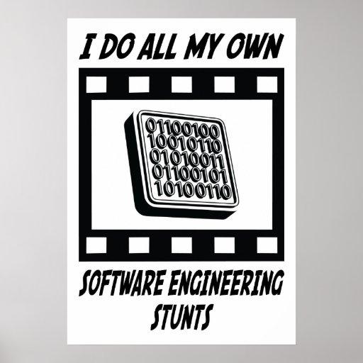 Trucos de la ingeniería de programas informáticos póster