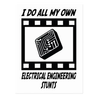 Trucos de la ingeniería eléctrica postales