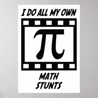 Trucos de la matemáticas póster