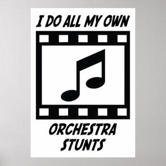 Trucos de la orquesta póster