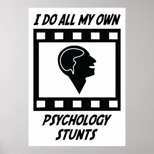 Trucos de la psicología posters