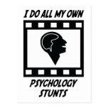 Trucos de la psicología tarjetas postales