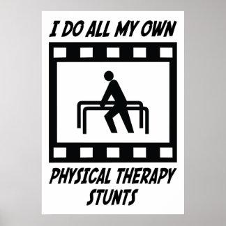 Trucos de la terapia física posters