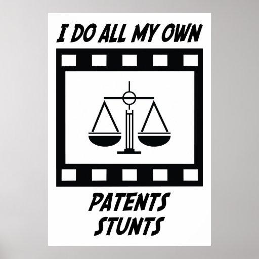 Trucos de las patentes posters