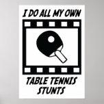 Trucos de los tenis de mesa impresiones