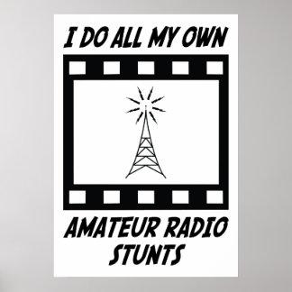 Trucos de radio aficionados impresiones
