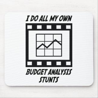 Trucos del análisis del presupuesto alfombrilla de ratón