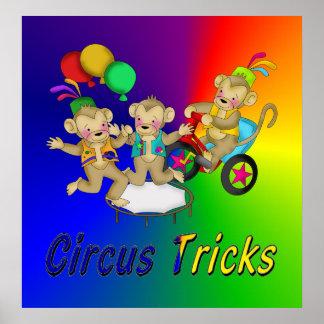 Trucos del circo impresiones
