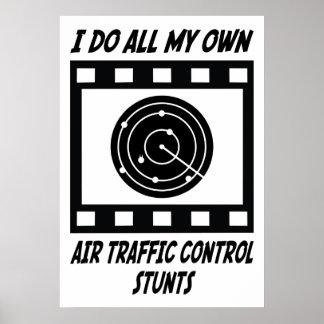 Trucos del controlador aéreo posters