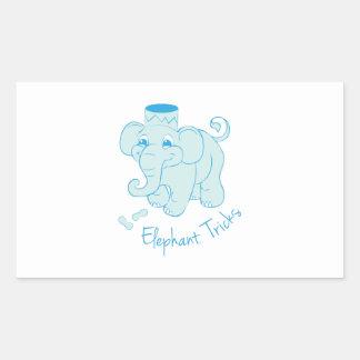 Trucos del elefante rectangular altavoz