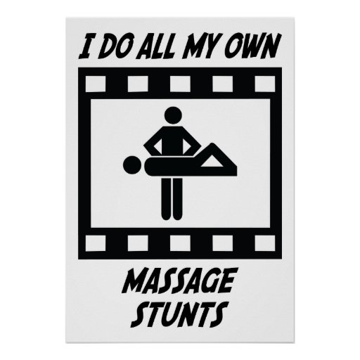 Trucos del masaje posters