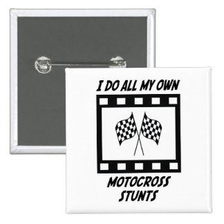 Trucos del motocrós pin cuadrada 5 cm