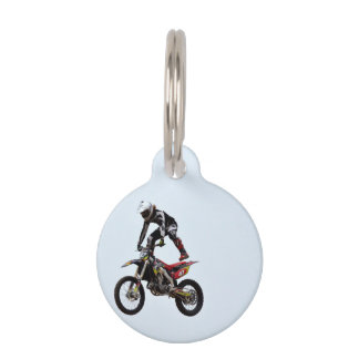 Trucos del motocrós placa para mascotas