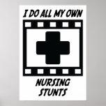 Trucos del oficio de enfermera poster