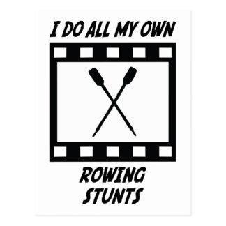 Trucos del Rowing Tarjetas Postales