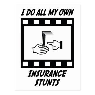 Trucos del seguro tarjeta postal