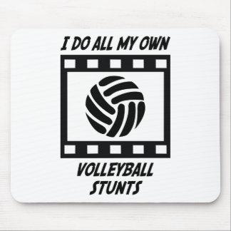 Trucos del voleibol alfombrillas de raton