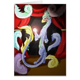 Trucos mágicos tarjeta de felicitación