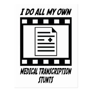 Trucos médicos de la transcripción postal