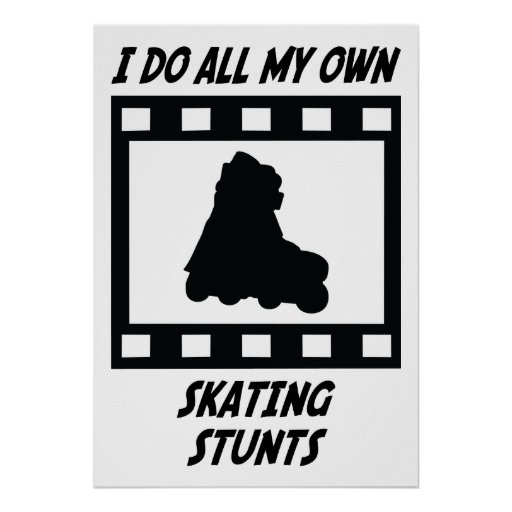 Trucos patinadores poster