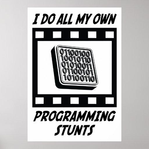 Trucos programados poster