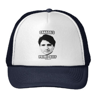 Trudeau - Canada's Prime Beef -.png Trucker Hat
