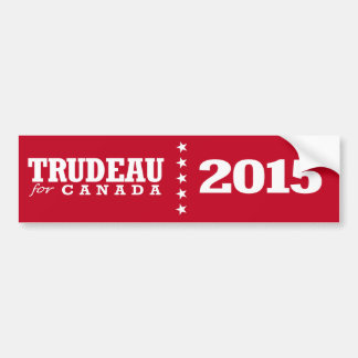 Trudeau for Canada Bumper Sticker