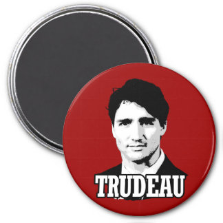 Trudeau Imán Redondo 7 Cm