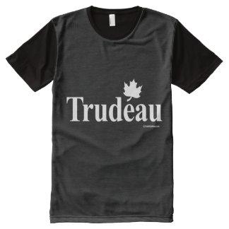 Trudeau liberal canadiense - .png blanco playeras con estampado integral