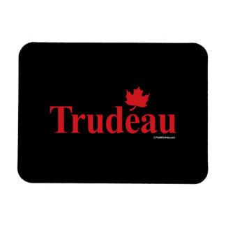 Trudeau liberal canadiense - .png imán foto rectangular
