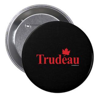 Trudeau liberal canadiense - .png pin redondo de 3 pulgadas